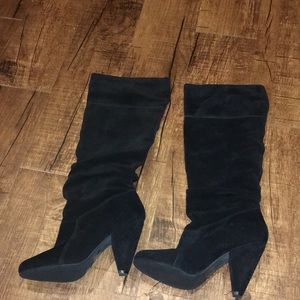 Jessica Simpson slouched boots